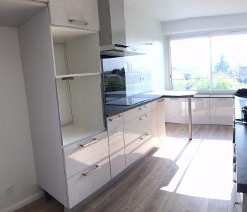 D'éco Rénov rénovation d'une cuisine haut de gamme au coeur d'un appartement