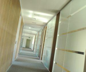 cloisons modulaires semi vitrées